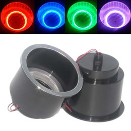 Discount car campers - 14 LED RGB Recessed plastic Cup Drink Holder For Marine Boat Car For Camper #279395