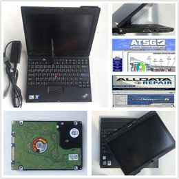 mitsubishi tablet NZ - X200T diagnostic laptop newest Alldata v10.53 Mitch*ll 2015 and ATSG 2012 3 in 1 TB hdd full set on X200 tablet 4GB laptop