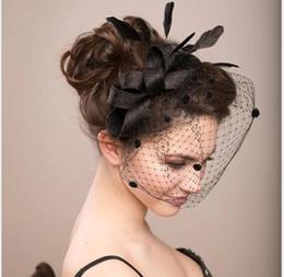$enCountryForm.capitalKeyWord Australia - European and American bride's veil, wedding hairdress, bow hat, bride's head, flower, feather, veil and screen ornaments