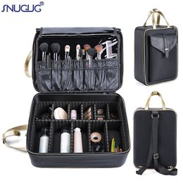 $enCountryForm.capitalKeyWord Australia - New Professional Cosmetic Case Large Capacity Cosmetic Storage Box Women Makeup Organizer Beauty Nail Tool Suitcase Bolso Mujer