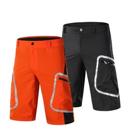 mountain bikes for men 2019 - Hiking Shorts Downhill Cycling Sports Shorts Men Reflective Mountain Bike Outdoor Sport Ciclismo Short for Bicycle Hikin