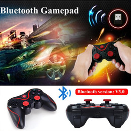 iphone tv box UK - S3 Wireless Joystick Bluetooth 3.0 Joystick Gamepad Game Controller for Android Smartphone iphone Mobile Phones PC TV BOX