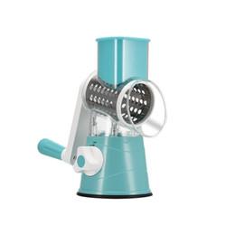 $enCountryForm.capitalKeyWord UK - Hot New Multifunction Home & Garden Chopper Manual Rotating Grater Vegetable Fruit Cutter Kitchen Gadgets Tools Hogard ZJ0583