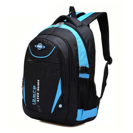 Big Blue Book Australia - Baijiawei Children School Bags For Teenagers Boys Girls Big Capacity School Backpack Waterproof Satchel Kids Book Bag Mochila Y190601