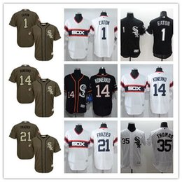d2c5f6ad6 Custom White Sox Jersey Australia - Chicago White Sox Majestic Cool Base  Mens  1 Adam