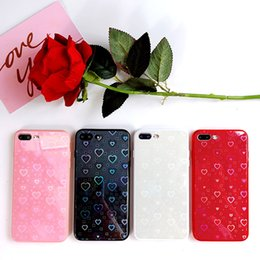 Iphone 6s Plus Phones Australia - Luxury Colorful Love Mirror Phone Case Cover on the For iPhone X 7 8 6 6S Case Silicon For iPhone 6 6S 8 7 Plus X 10 XR XS XS Max Case Coque