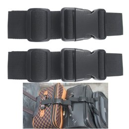 Wholesale 2 X Add a Bag Strap Luggage Strap Travel luggage belt attachment Bag connector