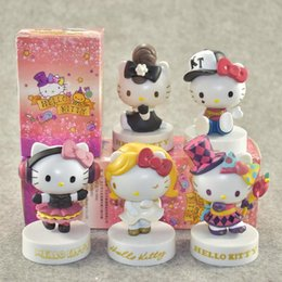 Home Hello Kitty Cartoon Toy Car Ornaments Shaking Head Doll Car Interior Supplies A Great Variety Of Goods