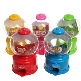Candy banks online shopping - New Arrival Bubble Gumball Dispenser Cartoon Clear Sweets Candy Money Saving Box Plastic Mini Coin Piggy Bank rj BB