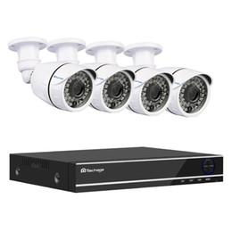 8ch Dvr NZ - Techage XMeye 8CH 1080P AHD DVR 4pcs Camera Kit Security CCTV System 2MP Night Vision AHD Camera Video Surveillance Set 2TB HDD