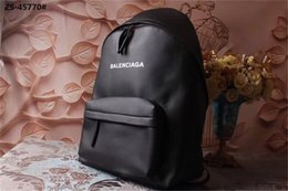 Soft backpackS online shopping - Designer Backpacks Leather Backpack Luxury Designer Backpack Black with LetterB Quality Hot Arrival Fashion Style Wide Strap Comfortable New