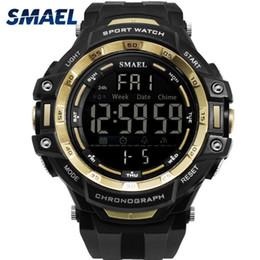 $enCountryForm.capitalKeyWord Australia - SMAEL Men 1350 Watch Male Relogios Masculino 50M Waterproof Wristwatch Chronograph Auto Date Watches Sport Quartz Clock