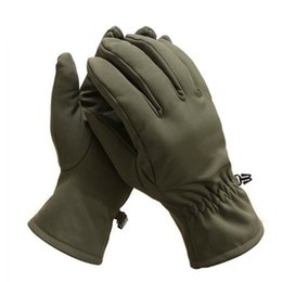 Spring Gloves NZ - Outdoor Riding Climbing Tactical Spring Winter Waterproof Windproof Full Finger Gloves Hunting SoftShell Wearproof Camo Mittens