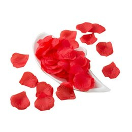 $enCountryForm.capitalKeyWord Australia - BRIDAY 1 5 10pcs Lifelike Artificial Silk Red Rose Petals Decorations for Wedding Party@1
