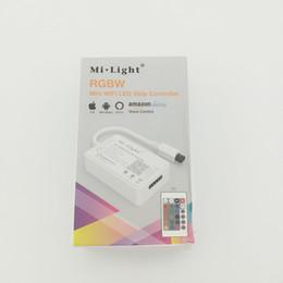 $enCountryForm.capitalKeyWord Australia - Milight YL2S WIFI Led Controller Amazon Alexa Smart Phone APP IR Remote Control For RGBW Led Strip Light Tape DC12V-24V