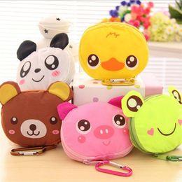 $enCountryForm.capitalKeyWord Australia - Usable Shopping Bag Oxford Cartoon Water Proof Lightweight Panda Foldable Tote Buckle Handbag Eco Friendly Folding Storage Bags 4 1xt p