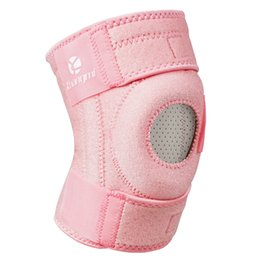 Discount patella knee protector - Kuangmi 1 PCS Adjustable Open Patella Knee Brace Support Wrap Protector Pad Sleeve for Arthritis Meniscus Tear ACL Runni