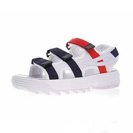 $enCountryForm.capitalKeyWord Australia - Fashion mens women Summer Designer Sandals black white red Anti-slipping Quick-drying Outdoor slippers Soft Water Shoes Beach Sandals 36-44