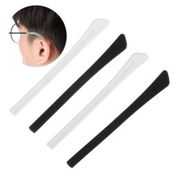 eyeglass silicone ear slip Australia - 4 Pair Glasses Sunglasses Slip Sets Glasses Leg Cover Anti Slip Silicone Ear Hook Temple Tip Holder Hook Eyeglasses Accessories