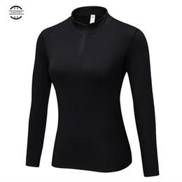 Women Velvet Clothes Australia - Yuerlian Women Seamless jersey mujer Long Sleeve Velvet Top Sports Wear for Women Gym Yoga Shirt Femme Workout Clothes #604275