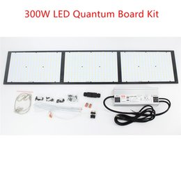 $enCountryForm.capitalKeyWord Australia - DIY 300W LED Quantum Board 3 x LM561C Kit Full Spectrum Dimmable LED Grow Light Indoor Plant Growing Light MW HLG-320H-48B Driver