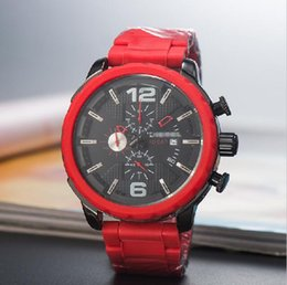 $enCountryForm.capitalKeyWord Australia - Mens luxury watch Brand dies watches Fashion red straps full-featured Watch new hot selling women Wristwatches world famous top Watches