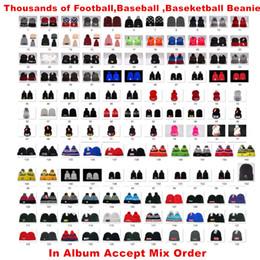 Vendita all'ingrosso 32Team Cap Beanie Hat con Cappelli Pom Cappelli Sport Knit Beanie USA Football Inverno Hat Altro 5000+ Accetta Ordine Mix in Offerta