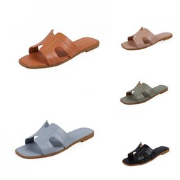 korean leather slippers NZ - Men Slippers 2020 Summer New Soft Bottom AntisMen Girl'S Shoes 1-3-11 Years Old Korean Version Of The British Style#262