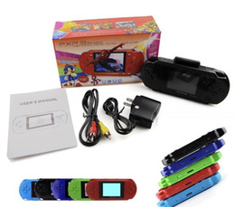 sega player Australia - Game Player PXP3 (18bit) PVP (8 Bit) 2.7 Inch LCD Screen Handheld Video Game Players Consoles Mini Portable Game Box SEGA SUP FC Games