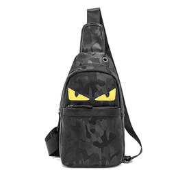 f35546911 Design sling bag online shopping - 2019 New Design PU Chest Bag leather  Little Monster Sling