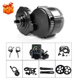 Chinese  Bafang 8fun BBS02B BBS02 48V 750W Electric Bicycle Kits Mid Crank Motor with Display e-Bike Central Motor DIY Kit manufacturers