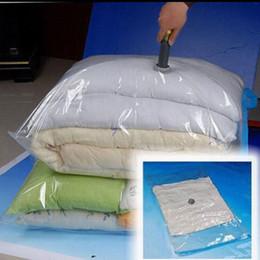 Cloth Clothing Storage Bags Australia - Heavy Duty Large Vacuum Seal Storage Bag Space Saving Cloths Travel Bedding