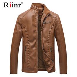 $enCountryForm.capitalKeyWord Australia - High Quality New Winter Autumn Fashion Leather Jackets Men Men's Leather Jacket Brand Motorcycle Jackets L-6XL