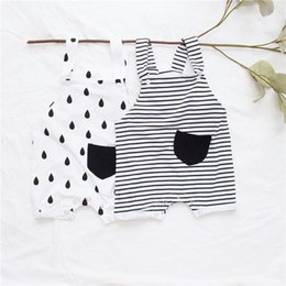 Tiny Clothes Australia - Enkelibb Tiny Cottons New Baby Romper Lovely Boys Girls White One-piece Rompers Fashion Toddler Summer Clothing Q190520