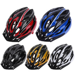 Bicycling Gear Australia - Unisex PC EPS Ultralight 18 Air Vents Bicycle Cycling Helmet Riding Men Women Mountain Road Bike Integrally Molded Cycling Gear