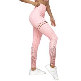 $enCountryForm.capitalKeyWord NZ - High Waist Fitness Leggings Women Workout Gold Print Leggings Female Activewear Leggins Sportswear Jeggings SH190628