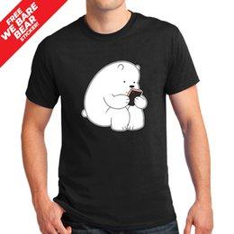 $enCountryForm.capitalKeyWord Australia - We Bare Bears Graphic Fashion Streetwear 100% Cotton T-Shirt WBB0014 Men Women Unisex Fashion tshirt Free Shipping black