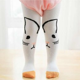 13a0207eaa982 Baby Thgits Cotton Cute Girls Tights Cartoon Meia Infantil Children Baby  Anti Skid Pantyhose Toddler Stocking Beikinyuans