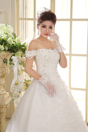 Fantasy pictures online shopping - Wedding dress floor length beautiful crystal print sequins fantasy bride dress wedding dress Robes De Mariée Plus