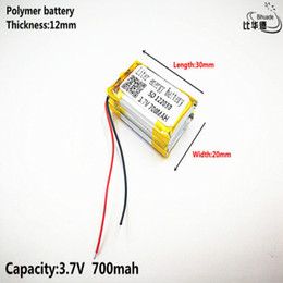 battery gps polymer Australia - Consumer Electronics Liter energy battery Good Qulity 3.7V,700mAH,122030 Polymer lithium ion   Li-ion battery for TOY,POWER BANK,GPS,mp3,mp4