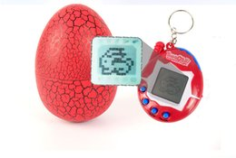 Wholesale Electronic Pet Egg Virtual Nurturing Game Vintage Virtual Pet Cyber Toy Tamagotchi Digital Pet For Child Kids Game