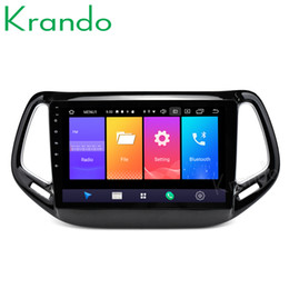 Digital auDio transmitter online shopping - Krando Android quot IPS Full touch car Multmedia player for JEEP COMMANDER audio player gps navigation system car dvd KD JC322