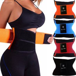 xtreme hot belt Australia - Trainer Waist Unisex Shaper Xtreme Power Belt Faja Women Body Shaper Belt Shapewear Tummy Shaper Hot Slimming Control Girdle