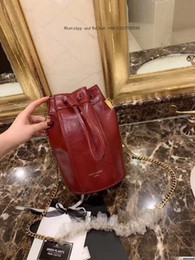 $enCountryForm.capitalKeyWord NZ - Hot-selling NEW VOGUE brand high-grade leather ladies super-attractive large-capacity fashion drawstring tote bag high-end design Bucket
