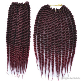 Ombre Kanekalon Jumbo Braid Hair UK - Ombre Xtrend 12'' Senegalese Twist Hair Kanekalon Jumbo Braiding Hair Crochet Braids Synthetic Hair Extensions 3 pcs