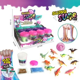 $enCountryForm.capitalKeyWord Australia - Novelty kids toys DIY swing Magic Crystal Slime Putty Polymer Clay Toy Soft Rubber Kids Intelligent Hand Plasticine Mud Play Dough Gift