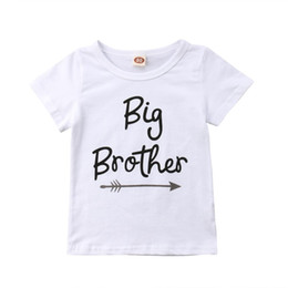 74f31e87d Big Sister T Shirts Australia - Baby Little Sister Romper Big Brother T-Shirt  Clothes