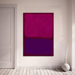$enCountryForm.capitalKeyWord Australia - 1 Piece Rothko Classical Oil Painting Wall Art Picture Home Decor Canvas Print Living Room Modern No Frame