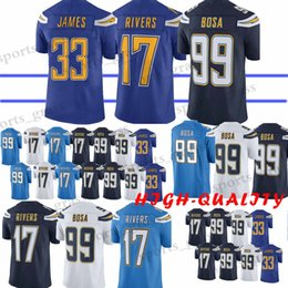 99 Joey Bosa Los Angeles jersey 17 Philip Rivers Charger 33 Derwin James  Top quality jerseys 100% Stitched High-quality 31761f942