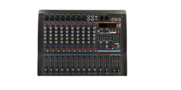 24bit Player Australia - 12Channels 3 Band EQ 2x1800W 24Bit DSP Effect Bluetooth Powered Mixer AK12